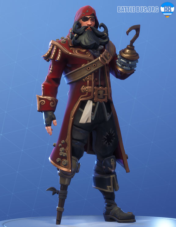 Blackheart Fortnite Red Outfit Scallywags Set Stage 3