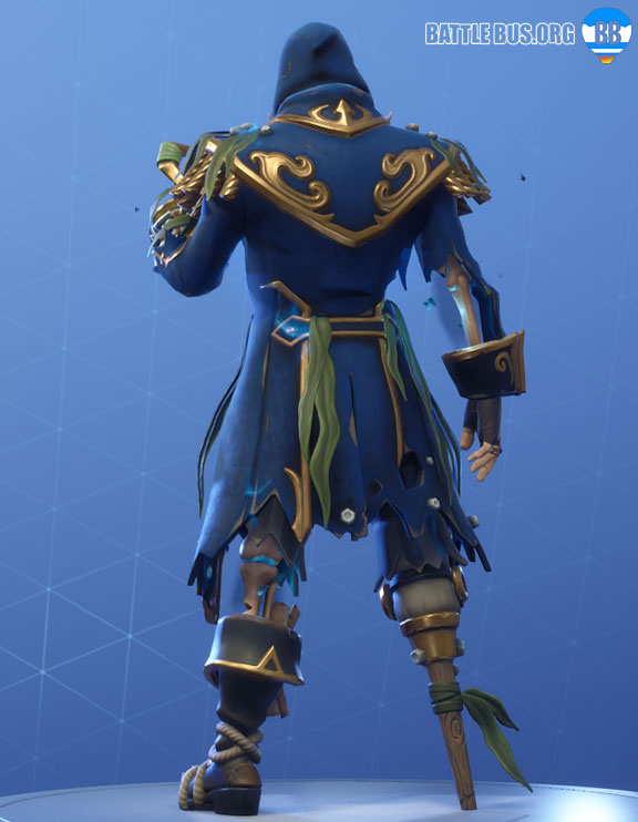 Blackheart Fortnite Blue Outfit Scallywags Set Stage 6