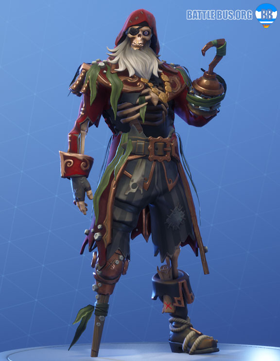 Blackheart Fortnite outfit Red Stage 4 Scallywags set