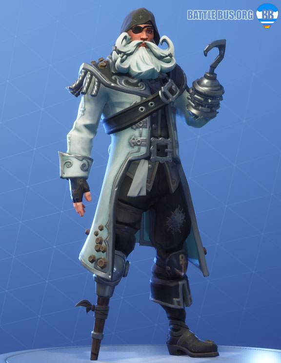 Blackheart Fortnite White Outfit Scallywags Set Stage 3
