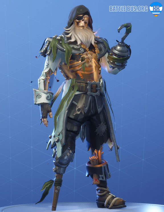 Blackheart Fortnite White Outfit Scallywags Set Stage 8