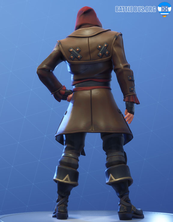 Blackheart Fortnite Red Outfit Scallywags Set