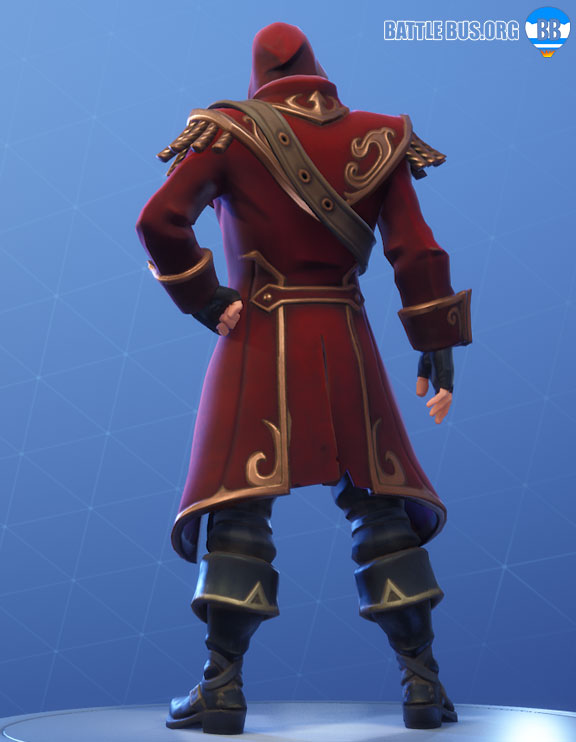 Blackheart Outfit Red Fortnite Scallywags Set Stage 2