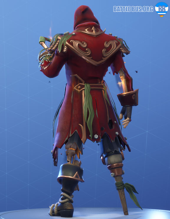 Blackheart Fortnite Red Outfit Scallywags Set Stage 8