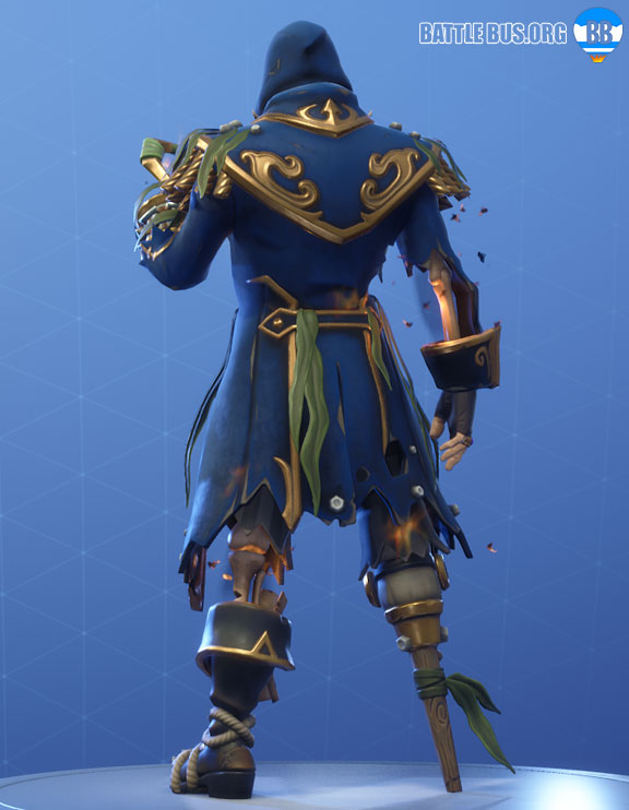 Blackheart Fortnite Blue Outfit Scallywags Set Stage 8