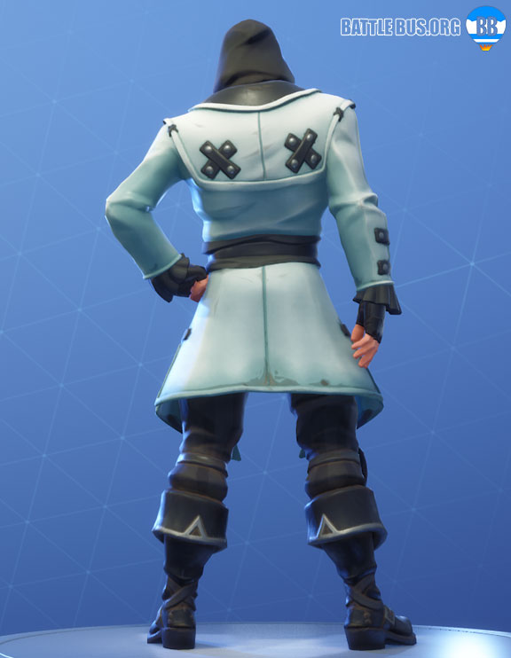 Blackheart Fortnite White Outfit Scallywags Set