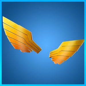 Fortnite Back Bling Sun Wings