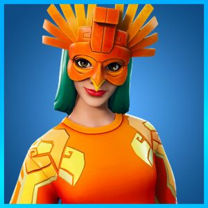 Fortnite Outfit Sunbird Sun Soldiers Set