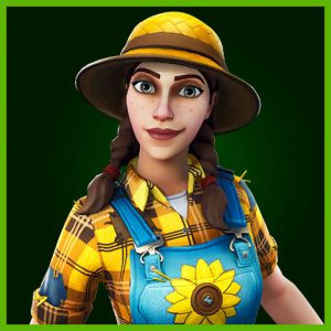 Fortnite Outfit Sunflower Fatal Fielders Set