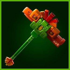 Fortnite Pickaxe Axetec Sun Soldiers Set