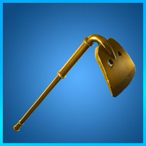 Fortnite Pickaxe Gold Digger Fatal Fielders Set