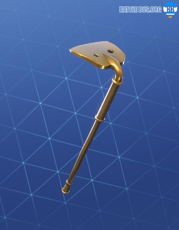 Gold Digger Pickaxe Fortnite Fatal Fielders Set