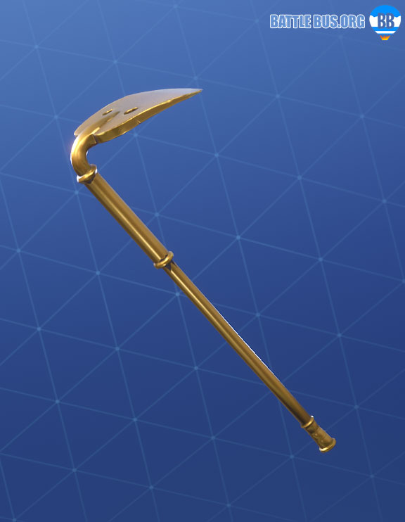 Gold Digger Pickaxe Fortnite Fatal Fielders Set