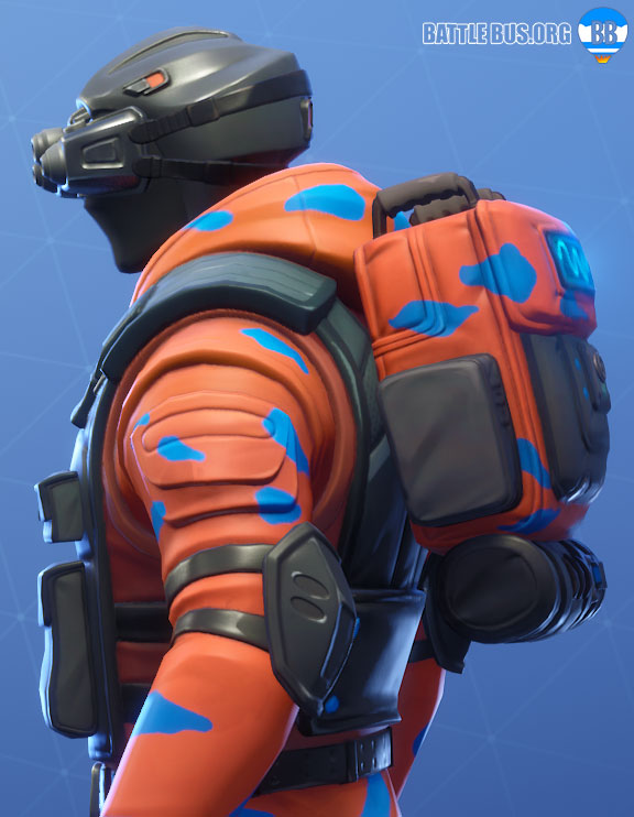 Oscilloscope Back BLing Fortnite Tech Ops Set Hypernova