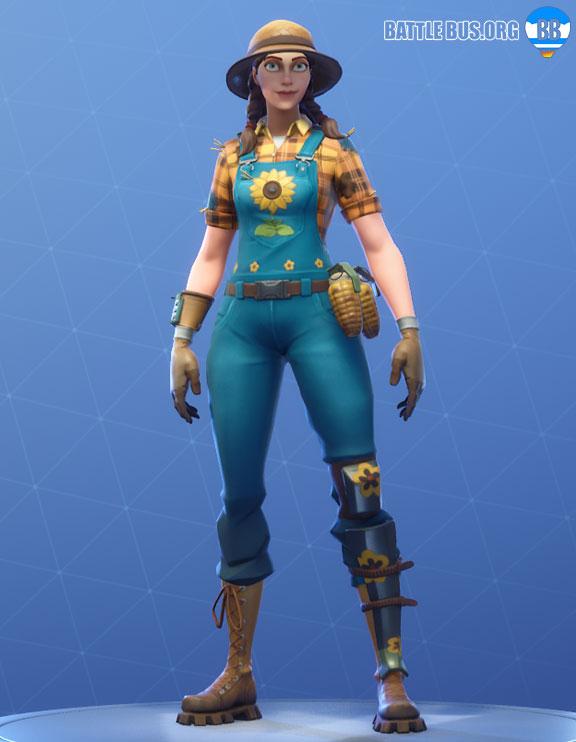Sunflower Outfit Fortnite Fatal Fielders Set