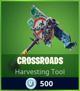 Crossroads Pickaxe Skin