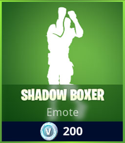 Shadow Boxer Emote