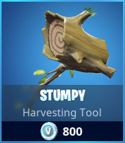 Stumpy Skin Pickaxe