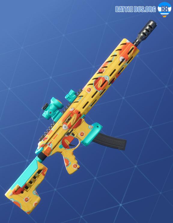 Fish Face Wrap Assault Rifle Fortnite