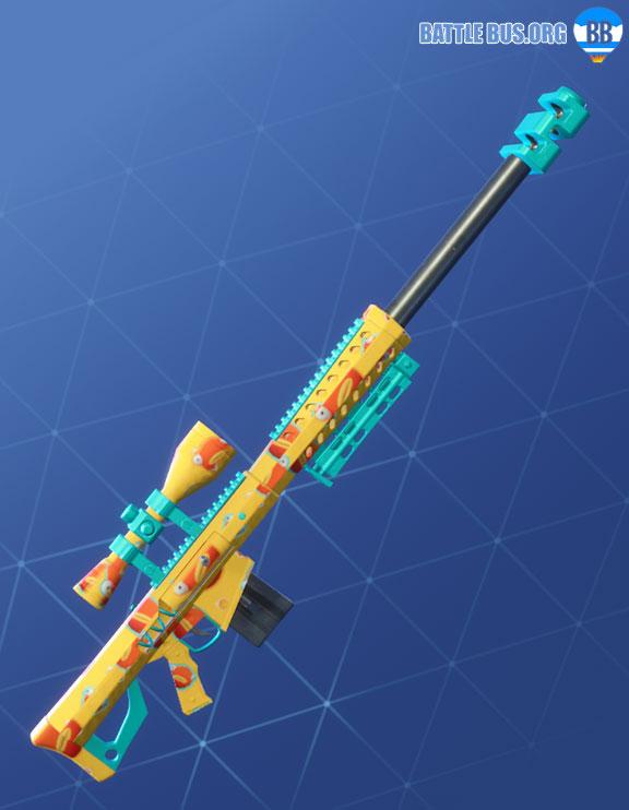 Fish Face Wrap Sniper Rifle Fortnite