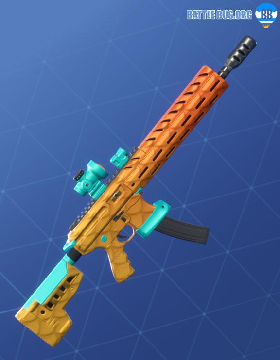 Fishy Wrap Assault Rifle Fortnite
