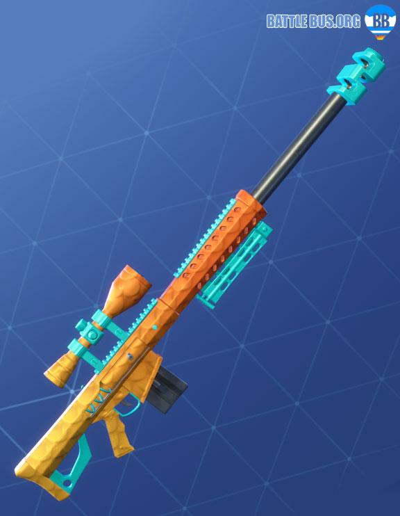 Fishy Wrap Sniper Rifle Fortnite