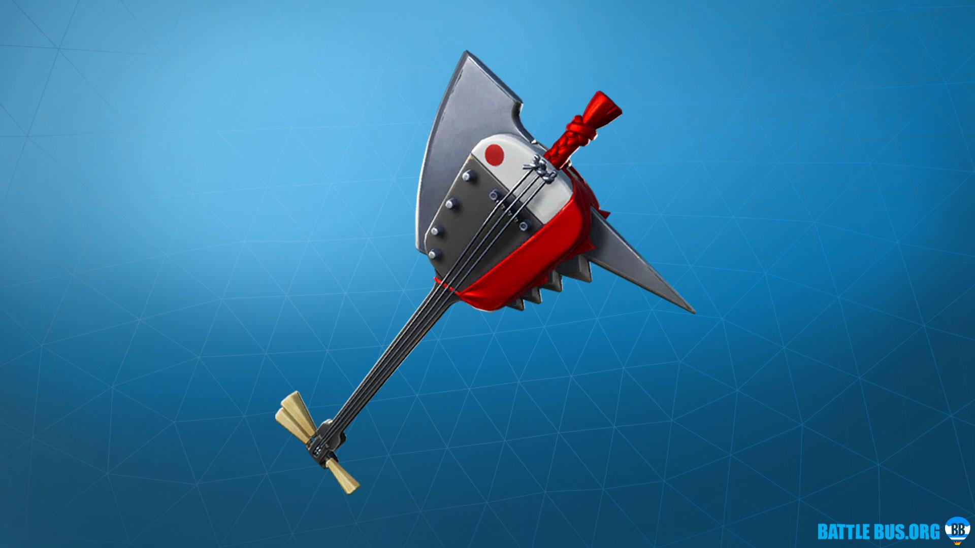 Shamisen Pickaxe Fortnite Takara Set