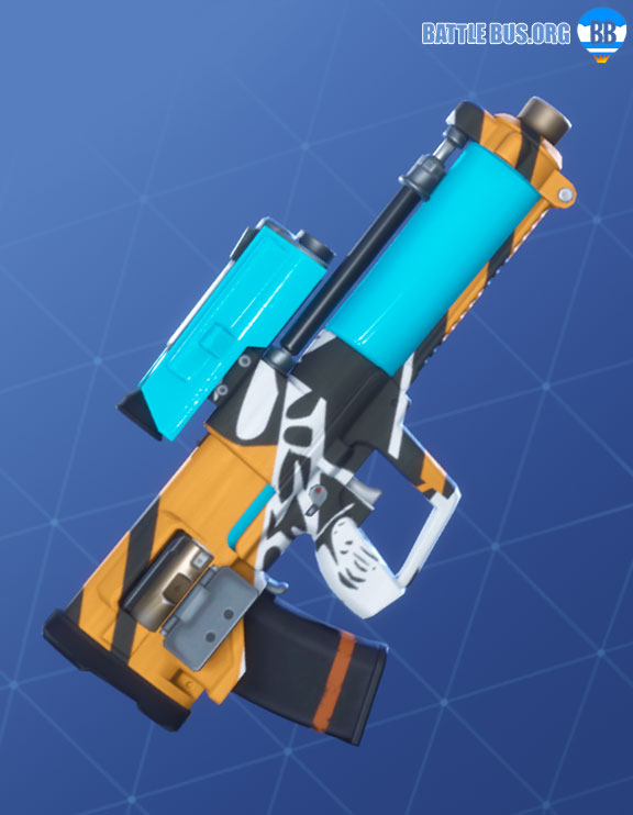 Bizzy Wrap Fortnite Roughneck Set Proximity Grenade Launcher