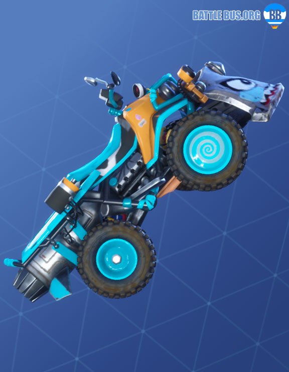 Bizzy Wrap Fortnite Roughneck Set Quadcrasher