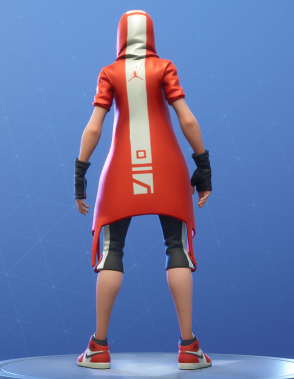 Clutch Fortnite Outfit Hang Time Set Style 4