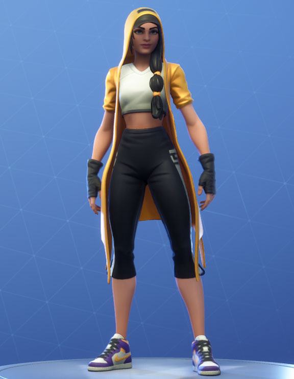 Clutch Fortnite Outfit Hang Time Set Style 3