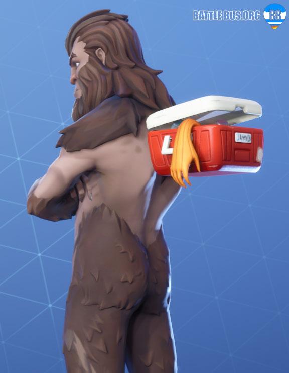 Cooler Bigfoot Back Bling Fortnite