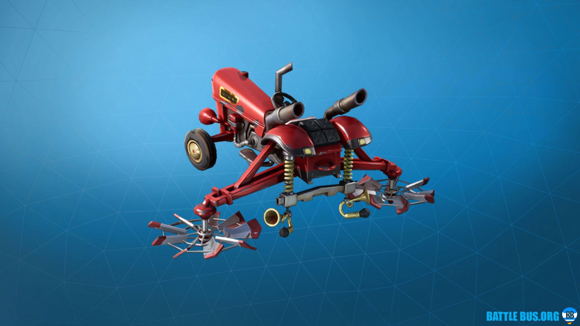 Crop Duster Glider Fortnite Fatal Fielders Set
