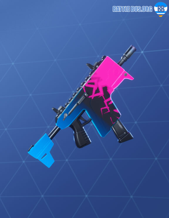 Essence Wrap Fortnite Stormlight Set Nitebeam Vector SMG