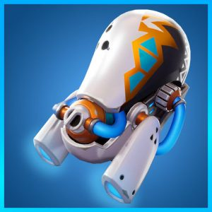 Fortnite Back Bling Glow Jet Biz