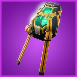 Fortnite Back Bling Lumi Core Green
