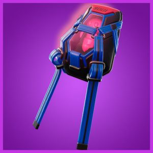 Fortnite Back Bling Lumi Core Red