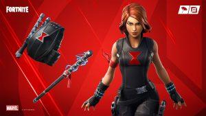 Fortnite Wallpaper 4K 3840x2160 Black Widow Avengers
