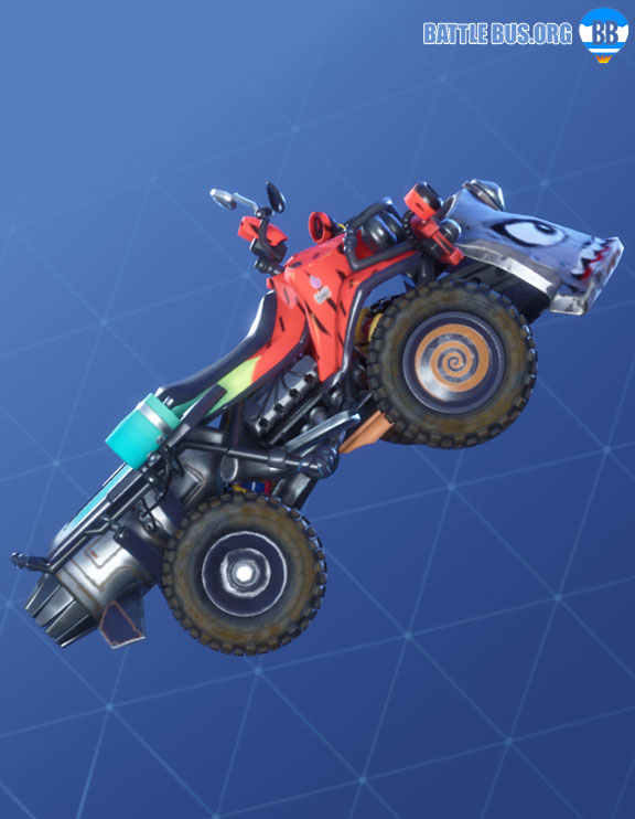 Hypermelon Wrap Fortnite Quadcrasher