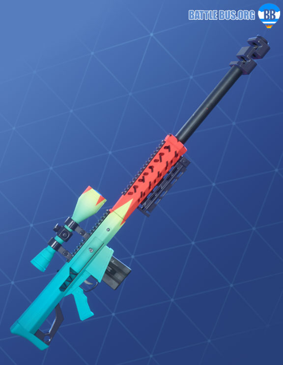 Hypermelon Wrap Fortnite Sniper Rifle