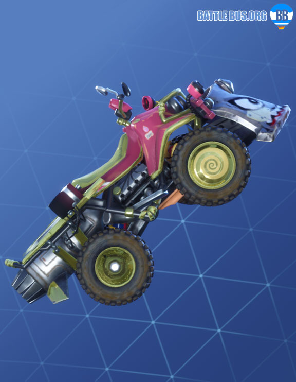 Kitsune Wrap Fortnite Summer Drift Set Quadcrasher