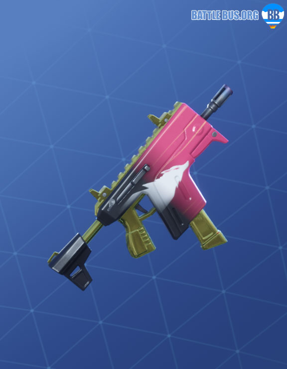 Kitsune Wrap Fortnite Summer Drift Set Vector SMG