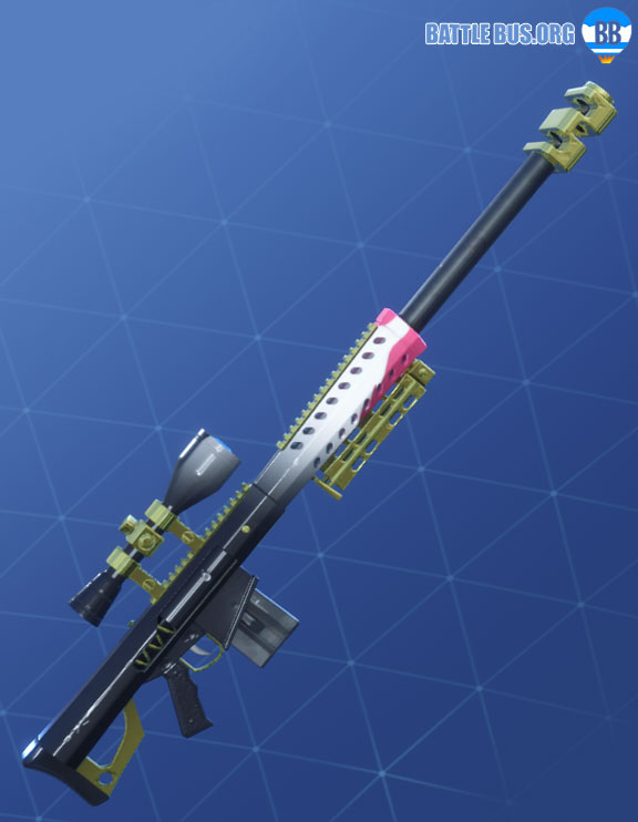 Kitsune Wrap Fortnite Summer Drift Set Sniper Rifle