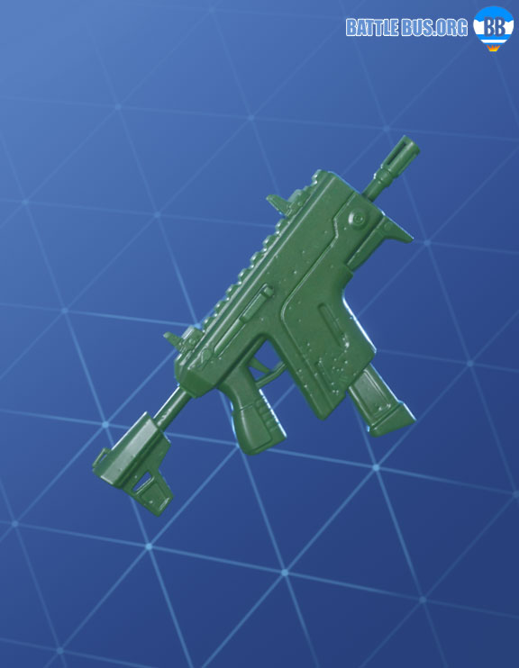 Toy Soldier Wraps Fortnite Wrap Vector SMG