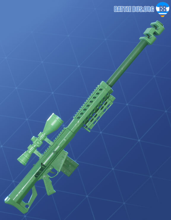 Toy Soldier Wraps Fortnite Wrap Sniper Rifle