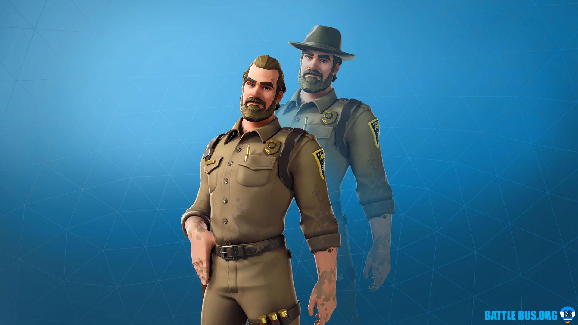Chief Hopper Fortnite Stranger Things
