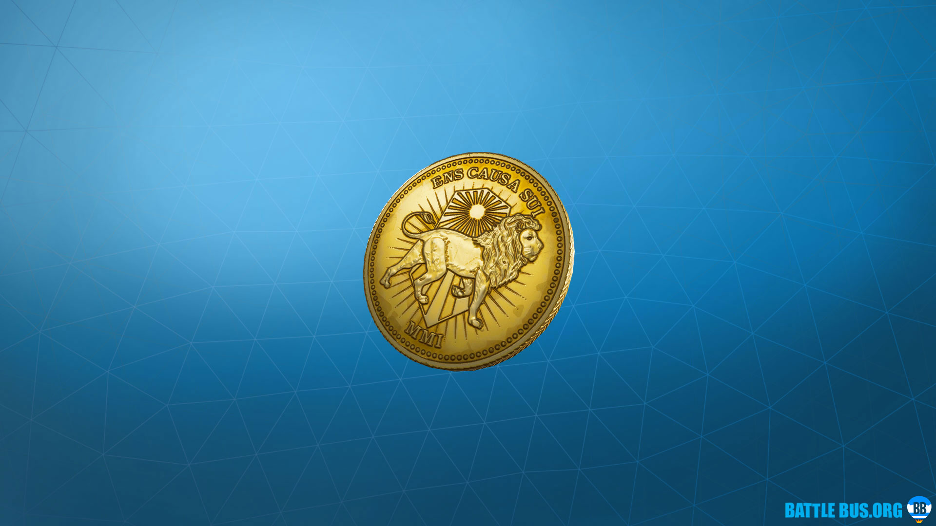 Gold Token Back Bling John Wick Set