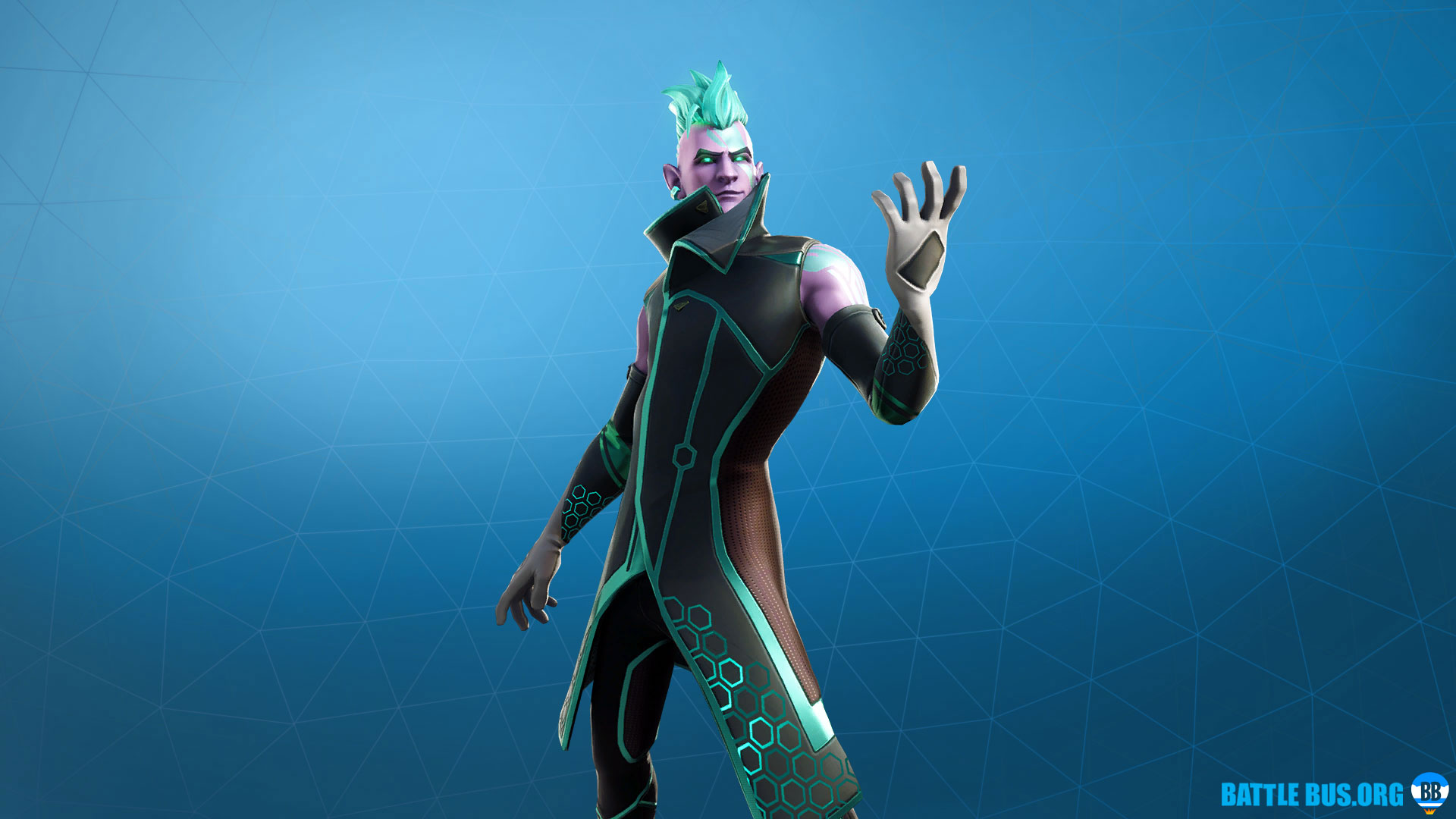 Vector Fortnite Skin Total Control Set