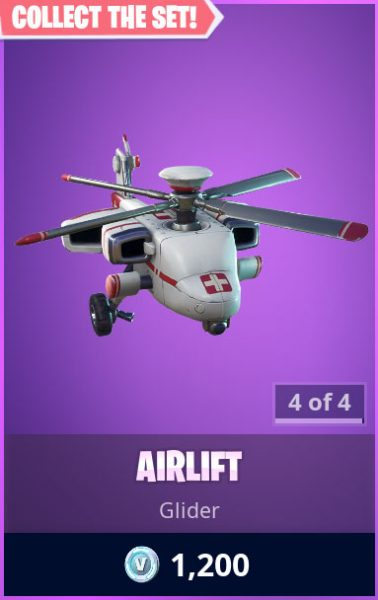 Airlift Fortnite Glider