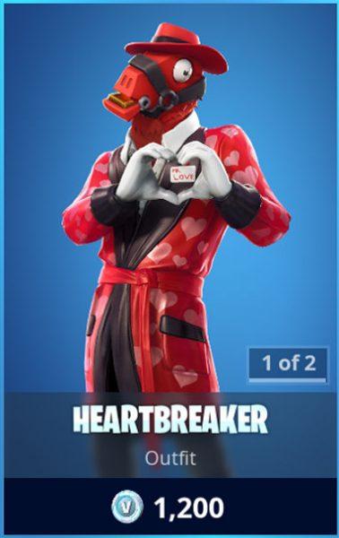 Heartbreaker Fortnite Skin